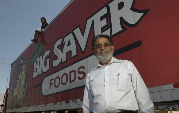 Big Saver Truck with the CEO